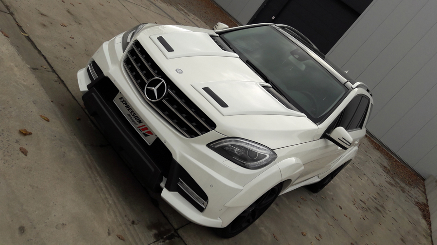 Porsche  Mercedes body kit