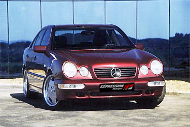 E Class w210 Expression - tuning for Mercedes-Benz