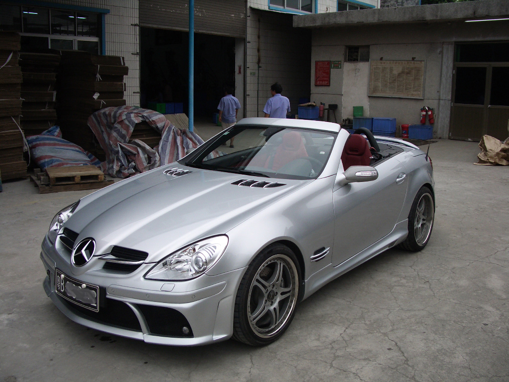 expression motorsport tuning for mercedes benz slk r170. Black Bedroom Furniture Sets. Home Design Ideas