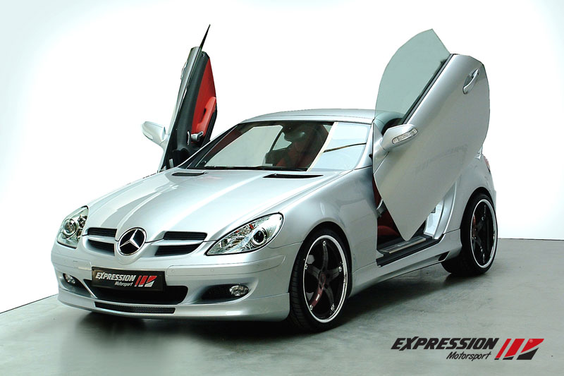expression motorsport tuning for mercedes benz slk r171. Black Bedroom Furniture Sets. Home Design Ideas